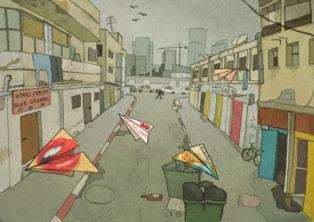 רחוב פין בתל אביב