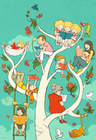 עץ הספרים תפוס