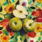 תפוחים ופרחים