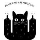 Black Cats Are Awesome